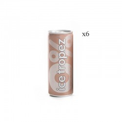 Canettes ice tropez 0% x6