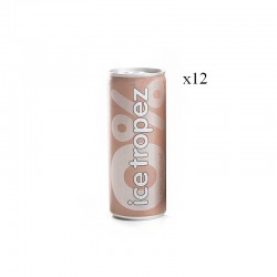 Canettes ice tropez 0% x12