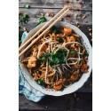 Pad thaï poulet crevette